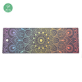 Non-slip Custom Printed Microfiber Yoga Mat With Private Label
