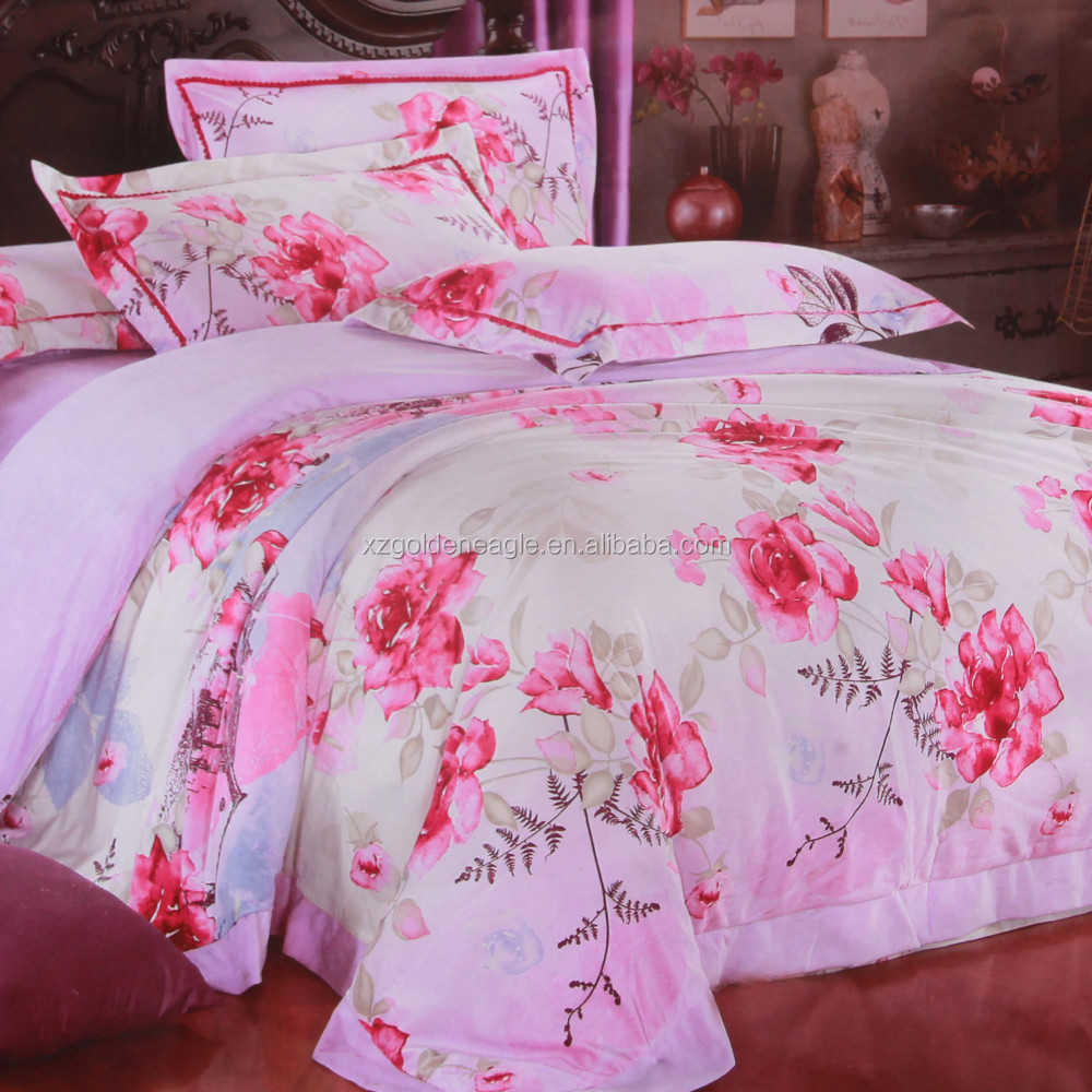 printed 100% cotton bedding
