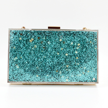 Personalized Italian Fashion Matching Shoes and Evening Acrylic Clutch Bags