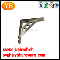 Customized Metal Corner Shelf Bracket for Wood Door