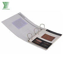 Custom printed 2/3 /4 Hole Ring Binder A4 paper file folder wholesale