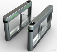 Automatic Security Pedestrian turnstile barrier swing gate / control extrance swing gate