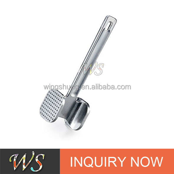 WS-MP01 Zinc alloy Durable meat tenderizer, beef steak tenderizer and meat hammer