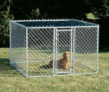 Cheap Chain Link Dog Kennels Chain Link Fence For Dog Cages Direct Sale