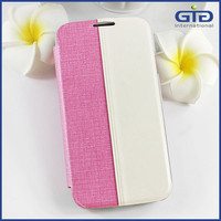 [NP-1996] Double Color Book Style Stand Flip Cover for Samsung S4 Flip Case for Galaxy S4 I9500