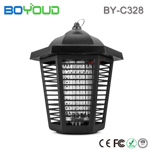 Amazon Outdoor High Voltage 20W Tube Electric Fly Mosquito Bug Zapper Killer Lamp