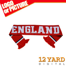 Best selling England national printed polyester scarf women and men warm scarf &shawls