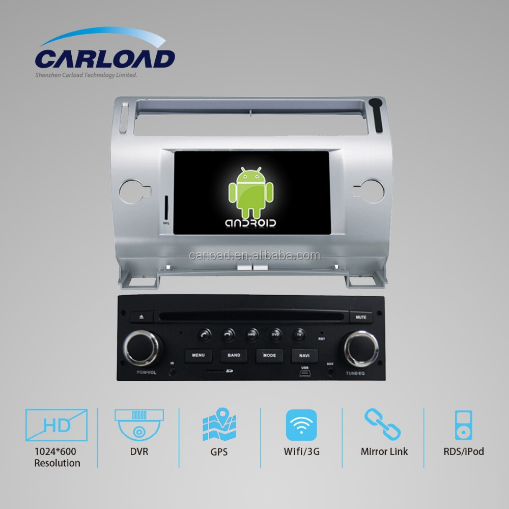2 Din In-dash Car stereo radio/dvd/gps/mp3/3g multimedia system for Citroen OLD C-QUATRE V7122CD