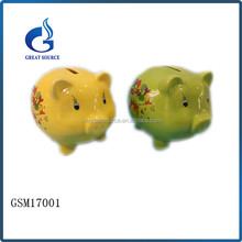 funny piggy bank ceramic coin bank money saving box