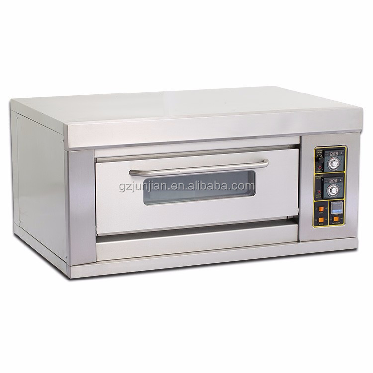 Commercial portable baking bread gas oven for pizza