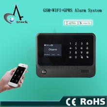 GSM WIFI home security alarm system with APP remote control