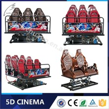 Hot Attractive Hydraulic/Electronic Cinema 7D Simulator Kino Theater