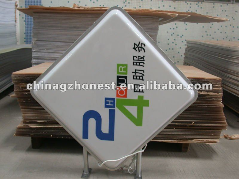 metal sign frame iron