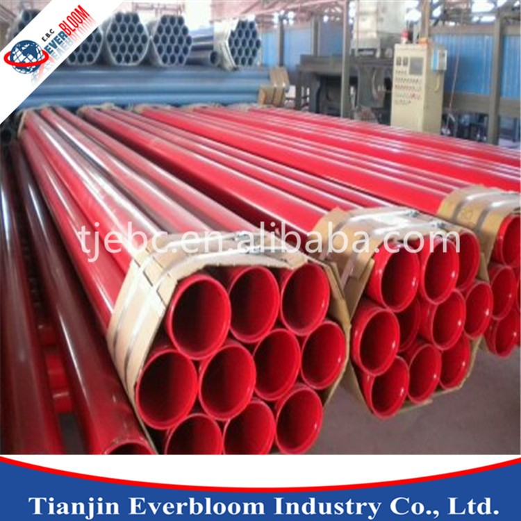 Fire water supply system using steel pipe, PE/EP coated steel pipe