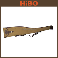 durable and portable canvas and leather tactical gun cover
