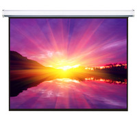 Best quality portable and electric motorized projector screen