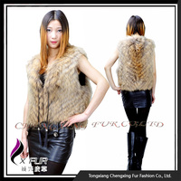 CX-G-B-66 Fashion Women Sex Raccoon Fur Clothing