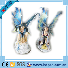 2016 Custom Polyresin Fairy Figurine, OEM Resin Craft Figure for garden decoration