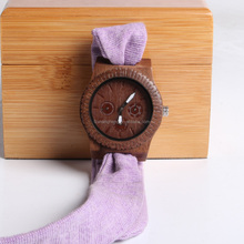Wooden Case Cloth Strap 100% Healthy We Wood Watches Wholesale