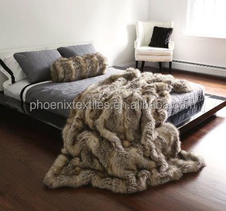 Alibaba China Wholesale Minky Faux Fur Throw Blanket Buy