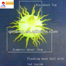 Flashing Puffer Ball with Led Light inside