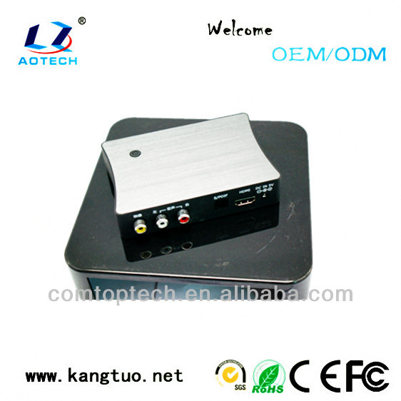 High definition 1080p hard disk media player, Up to 2TB