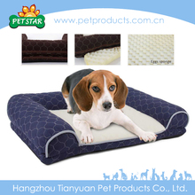 Warm And Flat Indoor Royal Cheap Cute Dog Beds Luxury Soft
