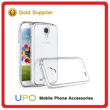 [UPO] Wholesale Ultra Thin Anti Scratch Transparent TPU PC Cell Phone Cover Case for Samsung Galaxy S4