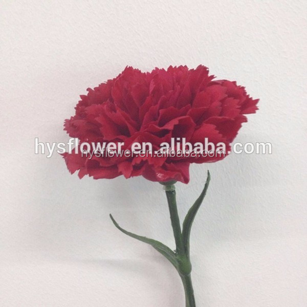 Artificial fake flower Carnation wholesale for Mother's day
