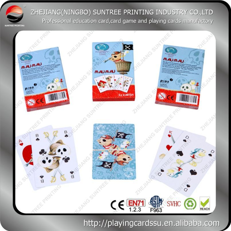 2016 new style Cigarette Custom Love Related Texas Hold Em Playing Cards
