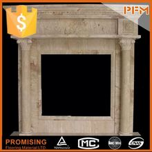interior decorative part plastic fireplace mantle