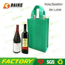 Eco-friend Fancy Non woven 2 Bottle Wine Tote Bag DK-LJ030