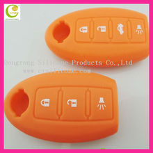 Welcome OEM wholesale eco-friendly silicone customized key case for nissian car key