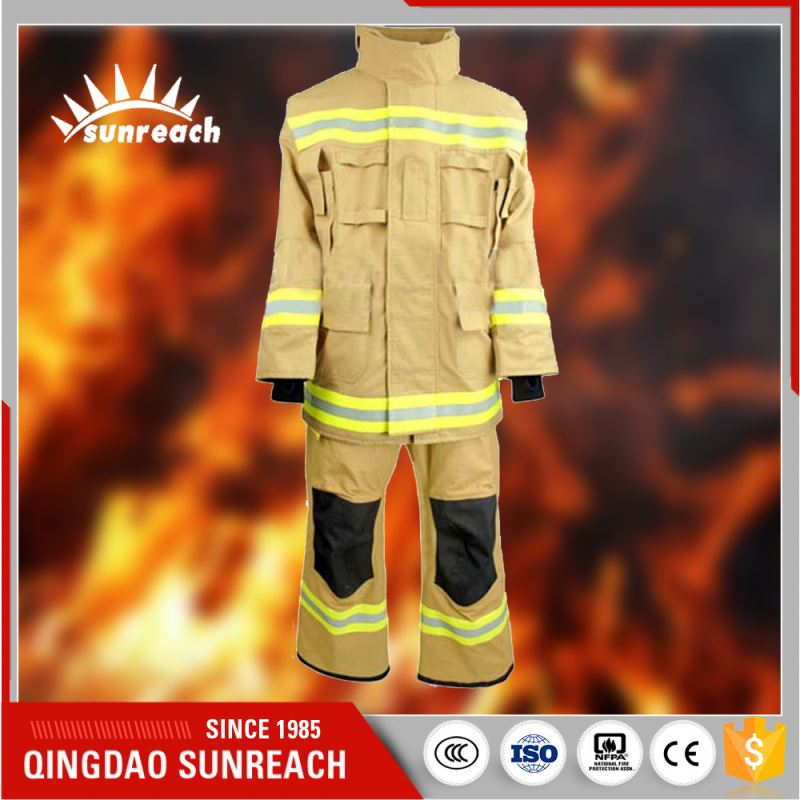 3M Yellow Silver Kevlar Safety Clothing Fire Suit