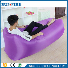 2017 fashion inflatable air filled lounge, air lounge sofa bed