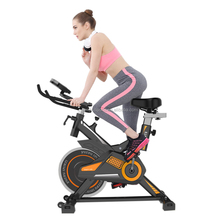 Cardio Fitness Workout Weight Loss Body Exercise Trainer YB-7800 Home Cycling Machine Spin Bike with Phone Hold