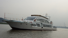 39m 250pax steel hull luxury coastal passenger boat for sale