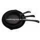 Pre-seasoned cast iron cookware long /short handle frying pans & skillets