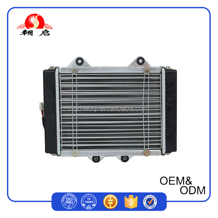 High Quality Custom Aluminum Core Motorcycle Water Cooler Radiator