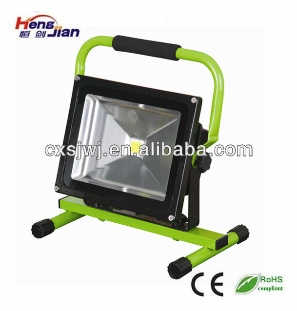 Led work light 30w portable and Rechargeable led flood light