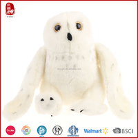 2016 top sale super soft short plush owl plush toys wholesale China