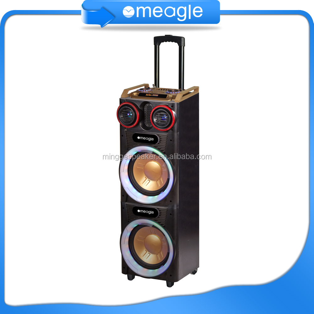 factory outlets TROLLEY speaker with 9 inch big screen