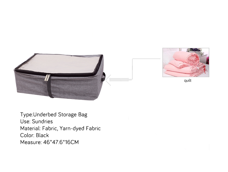NAHAM Wholesale Fabric House Organizer Underbed Storage Bag