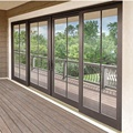 cheap Sliding Aluminum French Doors Exterior with french design