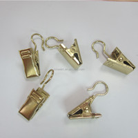 Bronze Color Small Metal Curtain Clip Hook Hanger For Wholesale