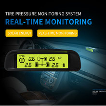 4 sensors version and 5 sensors version tire pressure and temperature monitoring system Wireless Solar Energy tpms