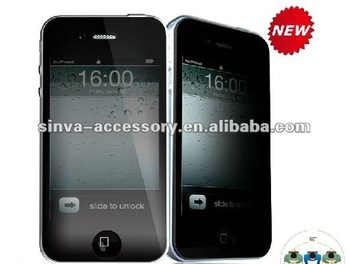 180 degree privacy screen protector for iphones
