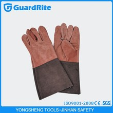 GuardRite Cheap Work Welding Gloves Grey Color S-2012