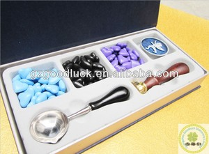 Toulon Hot sell seal wax set / custom make seal waxs/wax seal kit