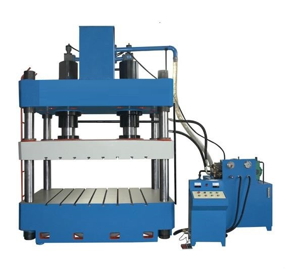 Double cylinder hydraulic press machine
